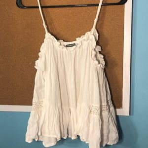 Earthbound off the shoulder top